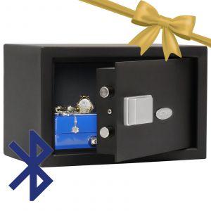 Rottner Möbeltresor Fifty BT Safe 1 Bluetoothschloss anthrazit
