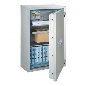 Rottner feuersicherer Papiersicherungsschrank EN2 GigaPaper 75 Premium Elektronikschloss weißaluminium