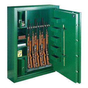 Rottner Waffenschrank EN0 SPORT N6 Premium Doppelbartschloss grün