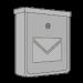 Brievenbussen zilver/grijs